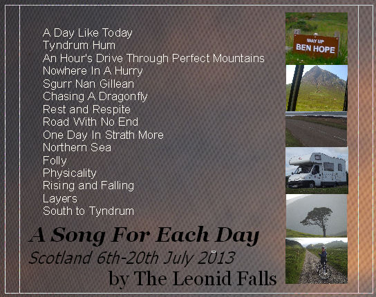 A Song For Each Day back cover